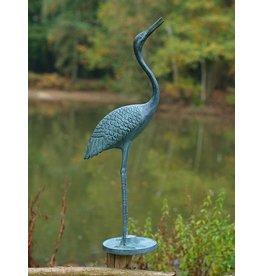 Bronzen kraanvogel 64cm