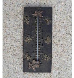 Bronzen thermometer vlinders