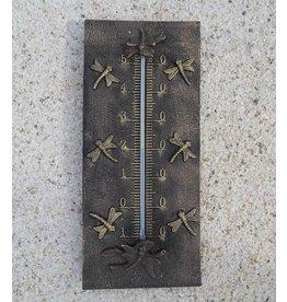 Bronzen thermometer libellen