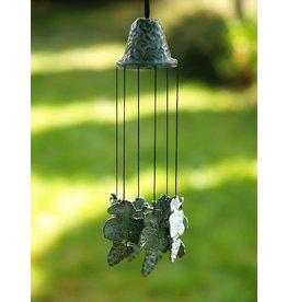 Bronzen windgong met druiven