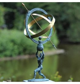 apollo bronze Sonnenuhr