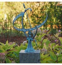 Bronze Sonnenuhr
