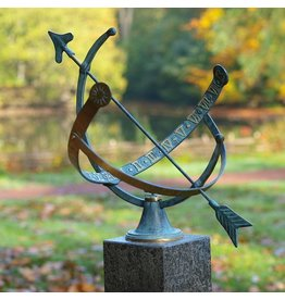 Sonnenuhr Bronze offen 1