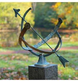 Zonnewijzer brons open 1