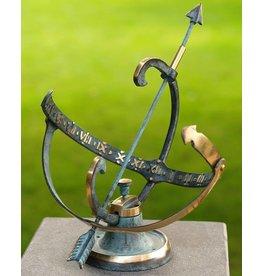Zonnewijzer brons