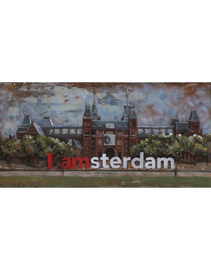 3D-Malerei 70x140cm Rijksmuseum