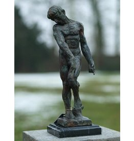 Bronzen Adam van Rodin 45 cm