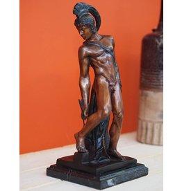 Bronzen beeld Achilles