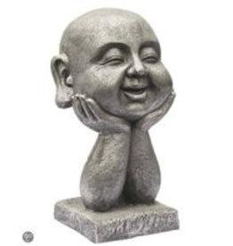 Buddha Kopf auf die Hände