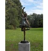 138cm Ballerina bronze