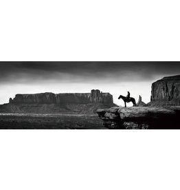 Glasmalerei 60x160cm Wild West