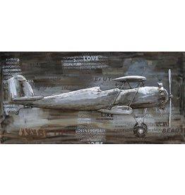 Painting 3d Metall 70x140cm 2-Decker