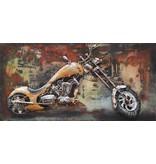 3d Malerei 40x80cm Chopper