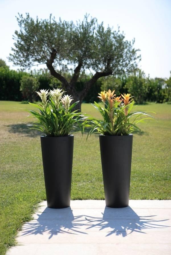 Hohe Vase Tondo Alto In Zwei Farben Eliassen Home Garden Pleasure