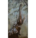 Eliassen 3d schilderij 70x140cm Olifant omhoog