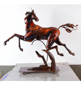 Beeld metaal Paard