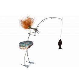 Vogel Fantasie RVS Bercadius Angler