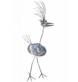 Abbildung Vogel großer Edelstahl Dorothea 1