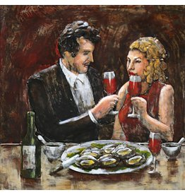 Malerei 3d Eisen 60x60cm Romantik