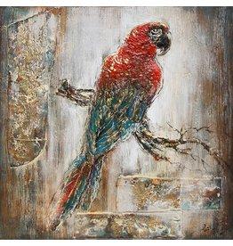 Eliassen 3D Gemälde Leinwand 80x80cm Ara