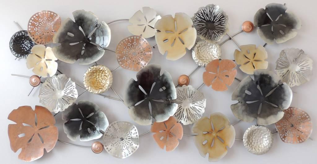 Muurdecoratie metaal A61 - Eliassen Home & Garden Pleasure