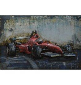 3D-Malerei Eisen 60x40cm Ferrari