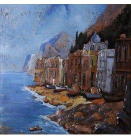 Metal painting 3d 100x100cm Gibraltar