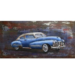 Painting 3d metal 60x120cm Sleigh