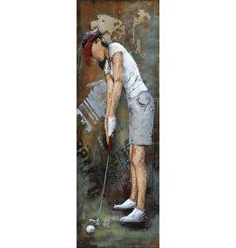 Malerei 3d Metall 40x120cm Treiber