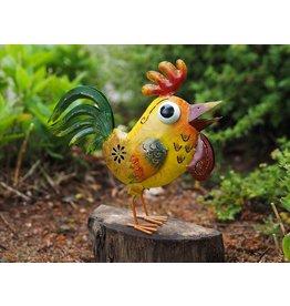 Metall-lustiges Huhn