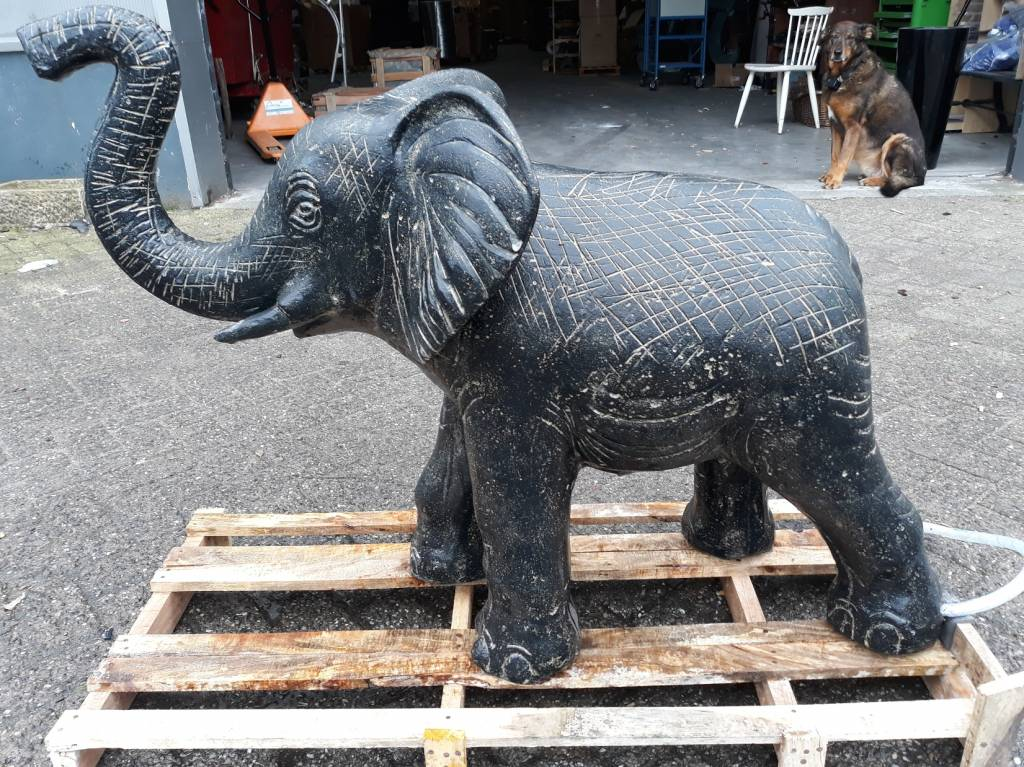 Eliassen Elephant Statue In 2 Sizes