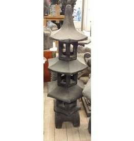 Pagoda Lampe 3. Stock