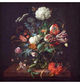 Dibond Malerei 74x74cm Klassisch