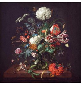Dibond schilderij 74x74cm Klassiek