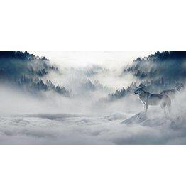 Dibond Malerei 98x49cm Icy