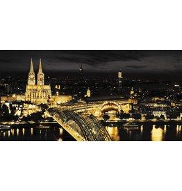Dibond Malerei 98x49cm Köln
