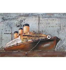 Eliassen Metalen 3d schilderij 80x120cm Stomer