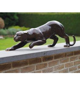 Bronzen beeld Luipaard