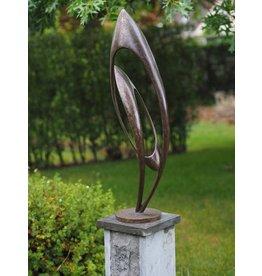 Bronze-Skulptur Endlose