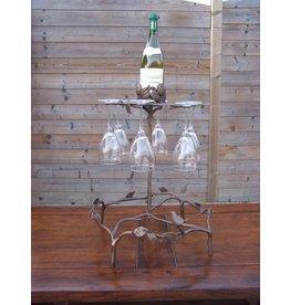 Bronze Weinglas