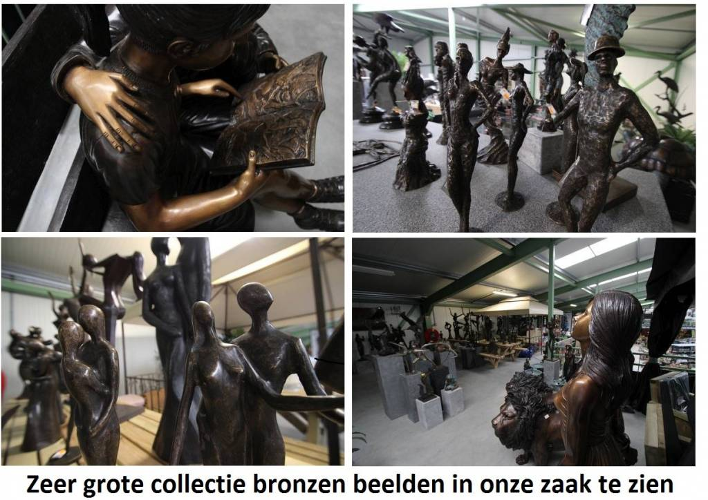 Eliassen Bild Bronze Familie modern