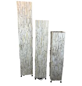 Vloerlamp hout Wood White
