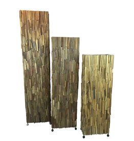 Stehleuchte Wood Wood Brown