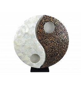 Tischlampe YingYang Egg in zwei Größen