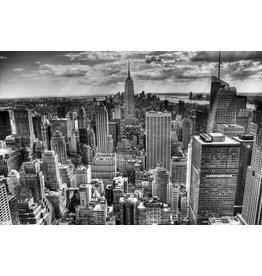 Bild hinter Glas Malerei 100x150cm Manhattan