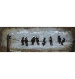 3d schilderij Avond