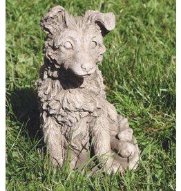 Garten Statue Sheltie Hund