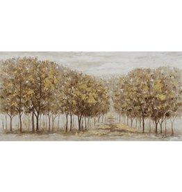 Wandbild auf Leinwand 140 x 70 cm Herbst