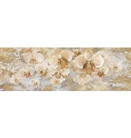 Wandbild auf Leinwand 150 x 60 cm Orchideen