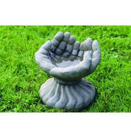 Vogelschaaltje handen